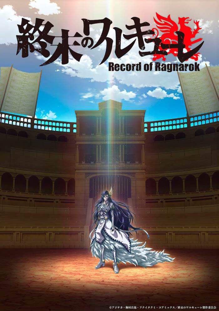 Shuumatsu no Valkyrie: Record of Ragnarok anime - poster