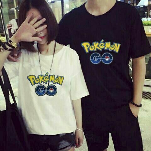 Jual Baju/Kaos Couple Couple Pokemon Go - 12749