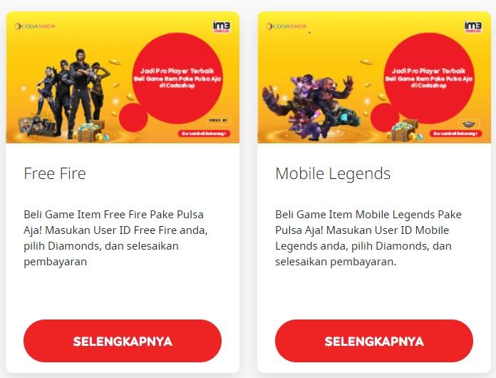 Gratis Diamond Mobile Legend Indosat