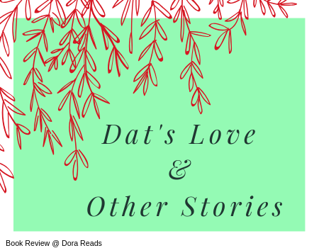 Dat's Love & Other Stories title image with red willow branches hanging down over the corner