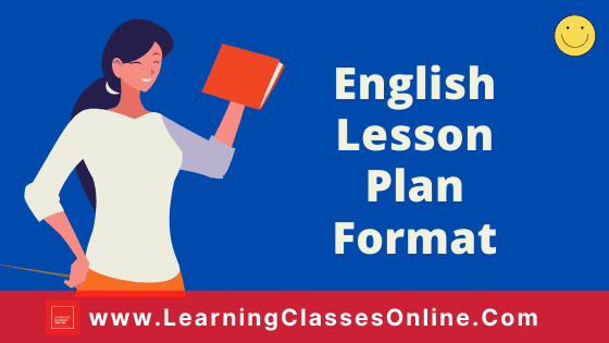 English Lesson Plan Format for B.Ed and School Teachers On The Road Not Taken Poem For Class 9th Free Download PDF