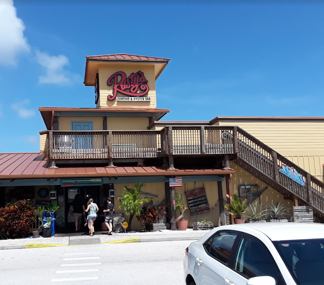 Rusty's, Rusty's Seafood, Rusty's Oyster Bar, Port Canaveral, Florida, Rustys, Rustys Seafood, Brevard County, Canaveral, Cape Canaveral, Restaurant, Seafood restaurant, East Coast