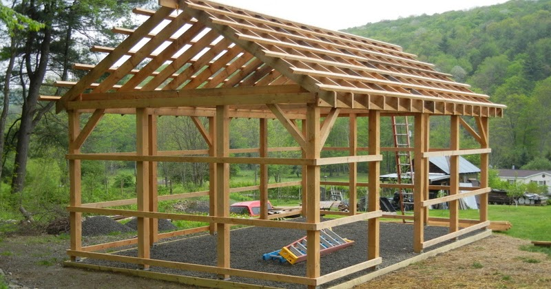 Gambrel Roof Plans Pole Barn Plans Are Required If You