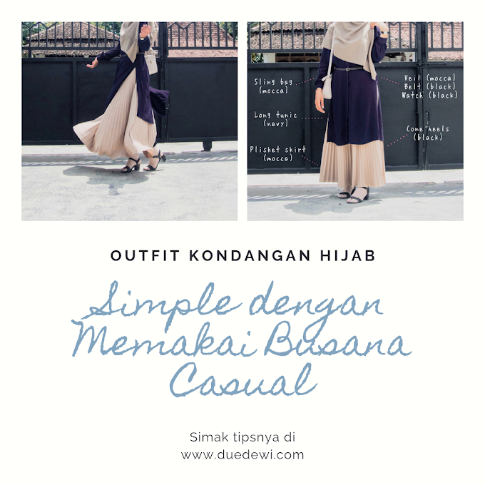 "Tips Outfit Kondangan Hijab Simple ""No Ribet-ribet Club"""