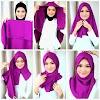Tutorial Hijab Segi Empat Terbaru 2016