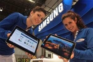 Apresentando os tablets da Samsung