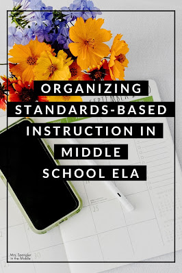 Find out how this Middle School ELA teacher fits in all the Reading and Writing Standards into one year with 50 minute class periods!