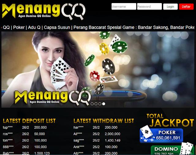 Situs Poker Online Menangqq Memberi Jackpot Milyaran Loh!