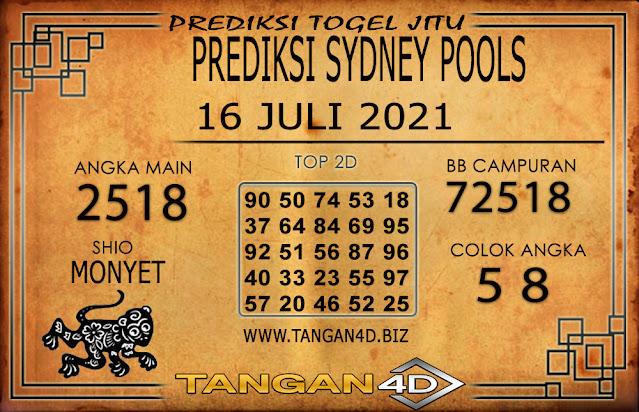 PREDIKSI TOGEL SYDNEY TANGAN4D 16 JULI 2021