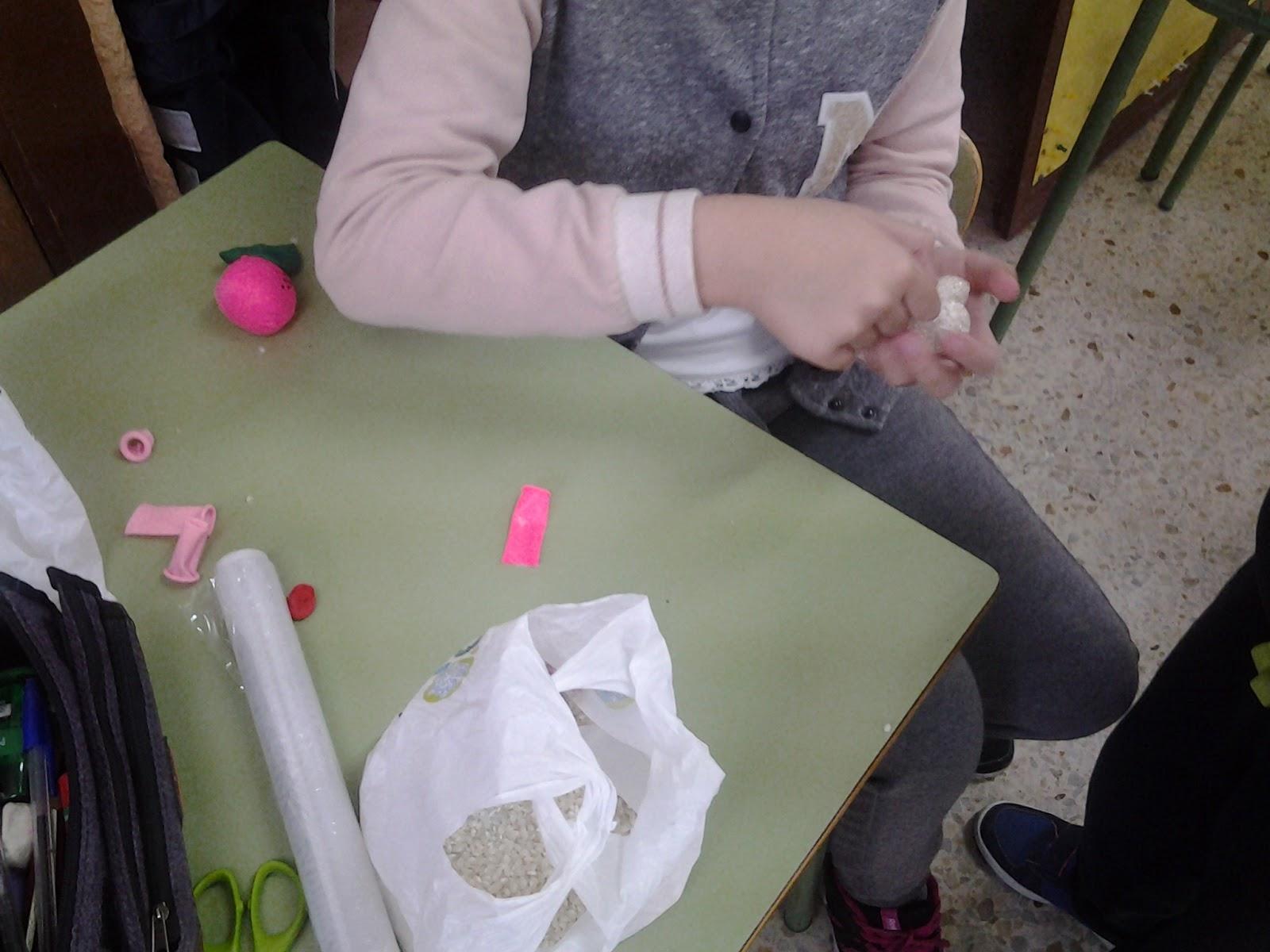 Mi educación física: Construcción de materiales. 3º y 4º de primaria.