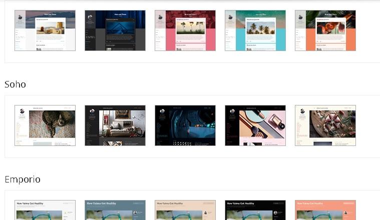 memilih template blogspot untuk pemula desain mana