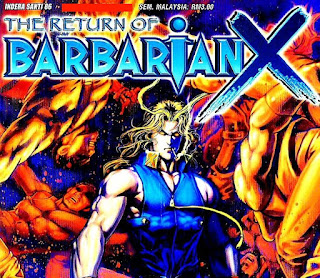 THE RETURN OF BARBARIAN X