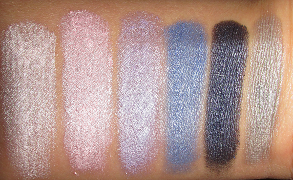 essence Cinderella - Eyeshadow Palette 01 It´s more than I ever hoped for - swatches Tageslicht Blitz