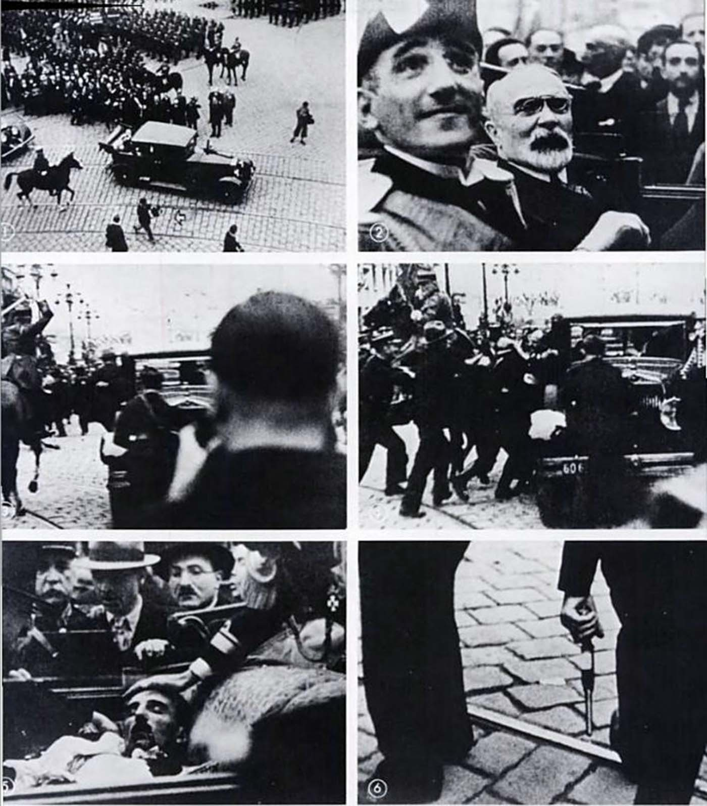 It was one of the first assassinations captured on film; the shooting occurred straight in front of the cameraman, who was only feet away at the time.
