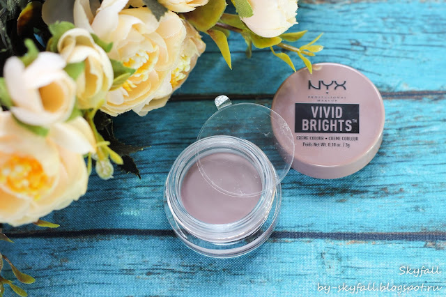 стойкие кремовые тени для век NYX Vivid Brights Creme Colour