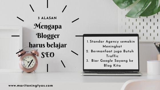 alasan blogger harus belajar SEO