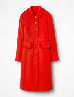 Kate Wore This BODEN Coat