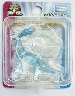 Dialga figure clear version Takara Tomy Monster Collection 2007 movie promo