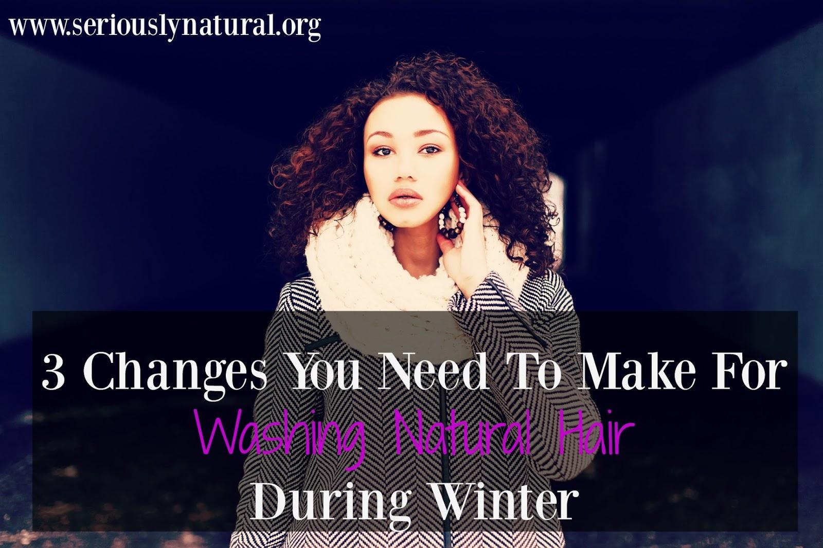 Washing Natural Hair During Winter