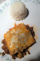 White Rice-Lasagna