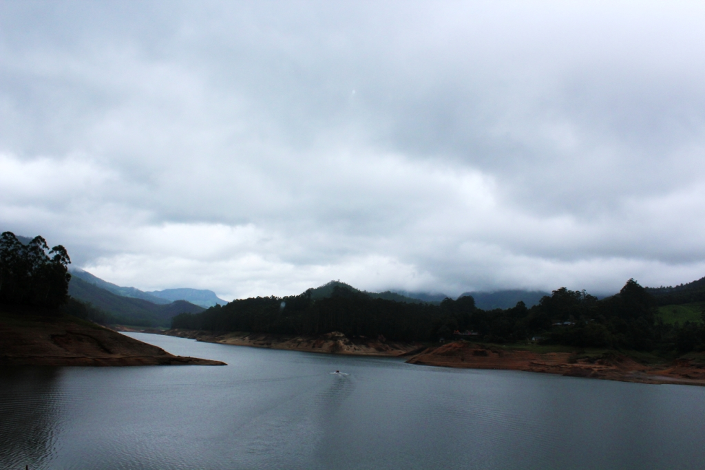 Matupetty Dam, Munnar in Monsoon