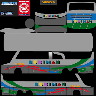 Livery Budiman Jaya World Bus Driving Simulator