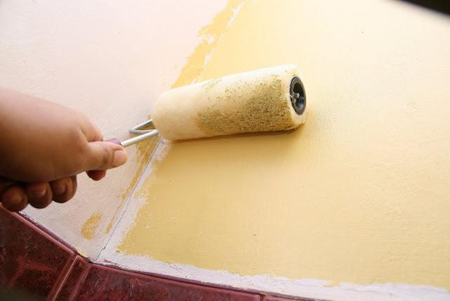 Техника покраски стен
