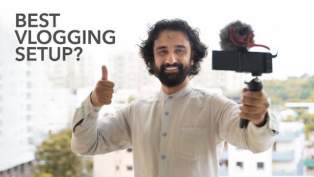 vlog setup camera beginners 2021
