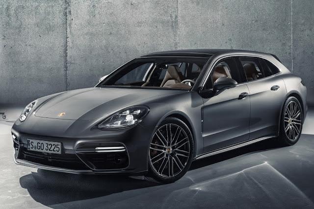 Porsche giới thiệu xe Panamera Sport Turismo, giá từ 96.200 USD