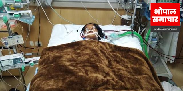 कांग्रेस नेता की बेटी गंभीर बीमार, सरकार से मदद की गुहार   MP NEWS