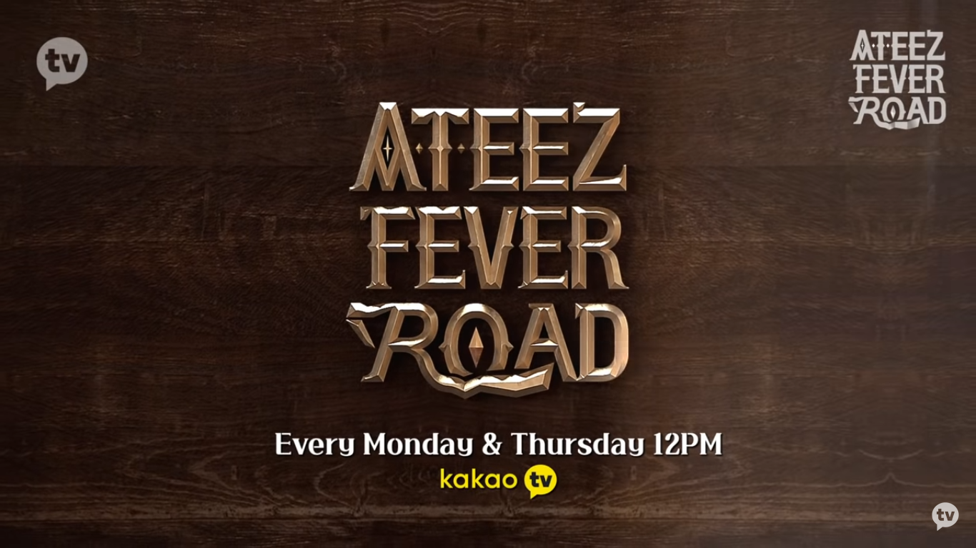 ATEEZ Releases Mysterious Video for Their Reality Show Program 'ATEEZ Fever Road'