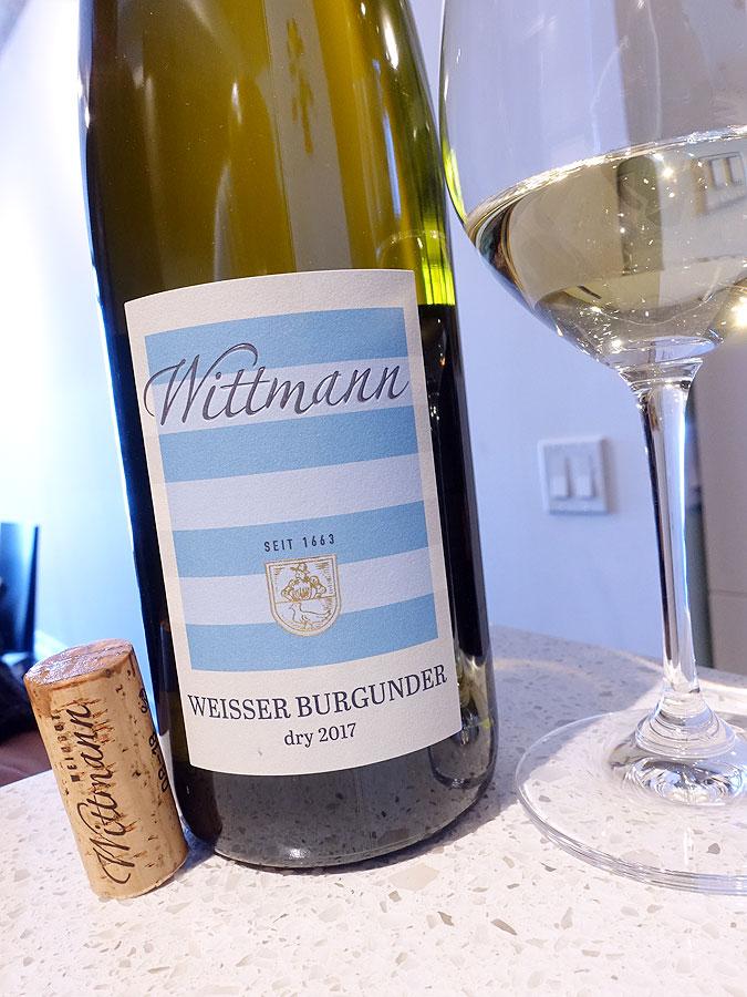 Wittmann Weisser Burgunder Trocken 2017 (90+ pts)