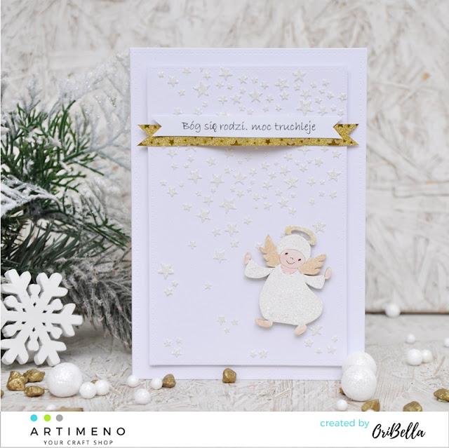696. Trzy proste kartki, dwie świąteczne i kurs;)