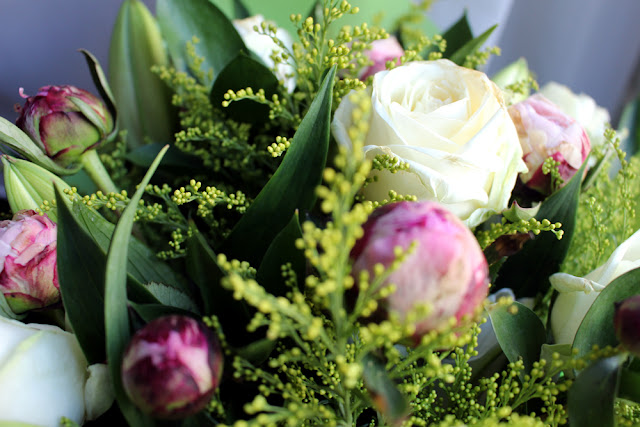 Peony, Rose & Lily Bouquet | Debenhams Flowers | lifestyle blog