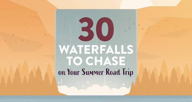 30 Waterfalls to Chase on Your Summer Road Trip - #roadtrip - carrentals.com