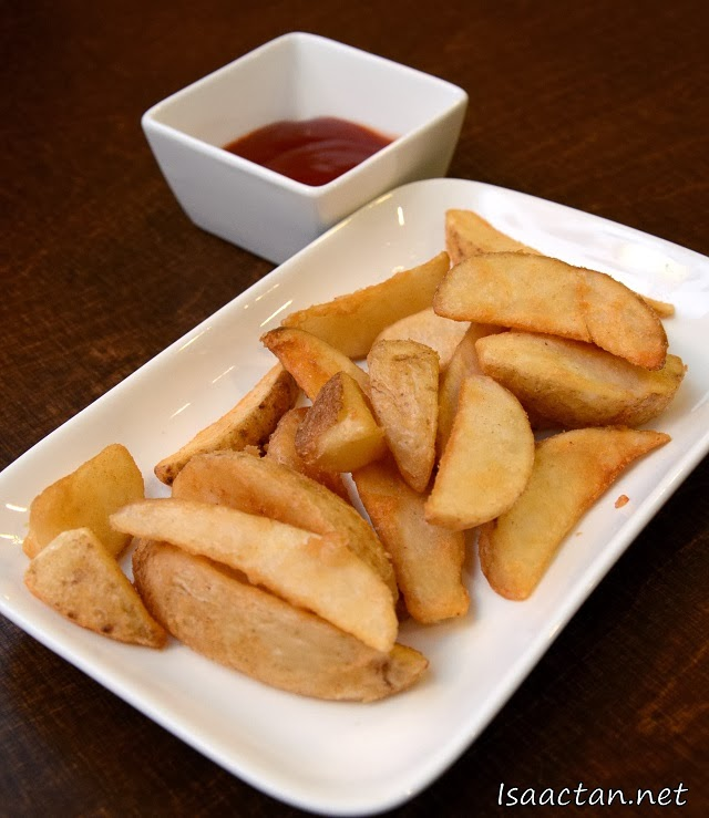 #1 Seasoned Wedges - RM5.90