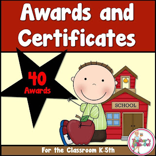 Awards and Certificates for the Classroom