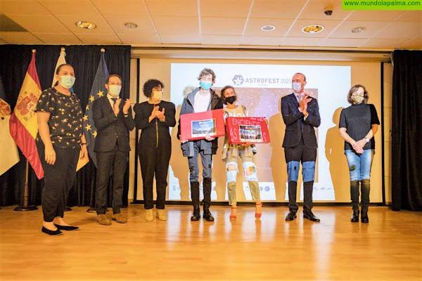 La Palma renueva su certificación Starlight en el acto de clausura del Astrofest 2020