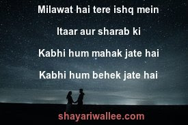 pyaar bhari shayari for gf