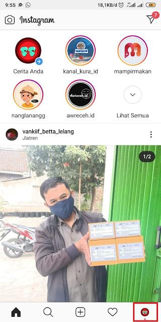 Cara Mengaktifkan Dark Mode Instagram - 5