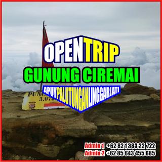 Open Trip Gunung Ciremai 2021 Via Apuy - Palutungan 2H1M
