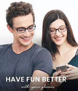 Cyxus blue light glasses for women