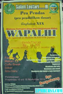Prapendas WAPALHI Fakultas Syari'ah dan Hukum UNISNU Jepara