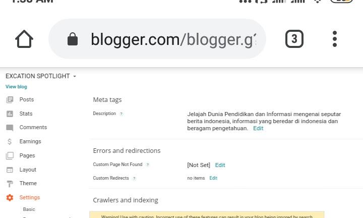 Petunjuk Meletakkan/Memasang Ads.txt di Blogger