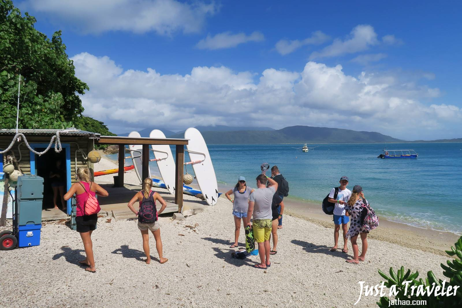 凱恩斯-大堡礁-翡翠島-內堡礁-浮潛-潛水-推薦-旅遊-自由行-澳洲-Carins-Great-Barrier-Reef-Fitzroy-Island-Snorkel-Diving-Travel-Australia