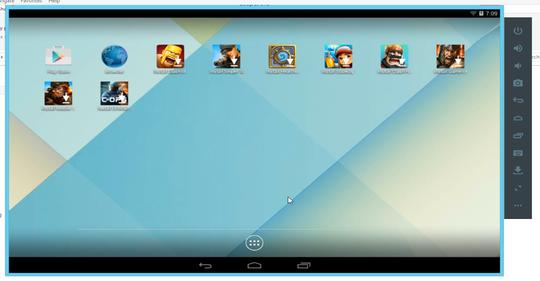 Aplikasi Leapdroid Emulator