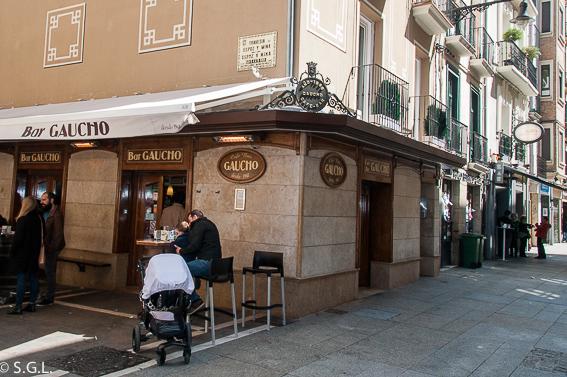 Bar Gaucho en Pamplona. Pamplona de pintxos