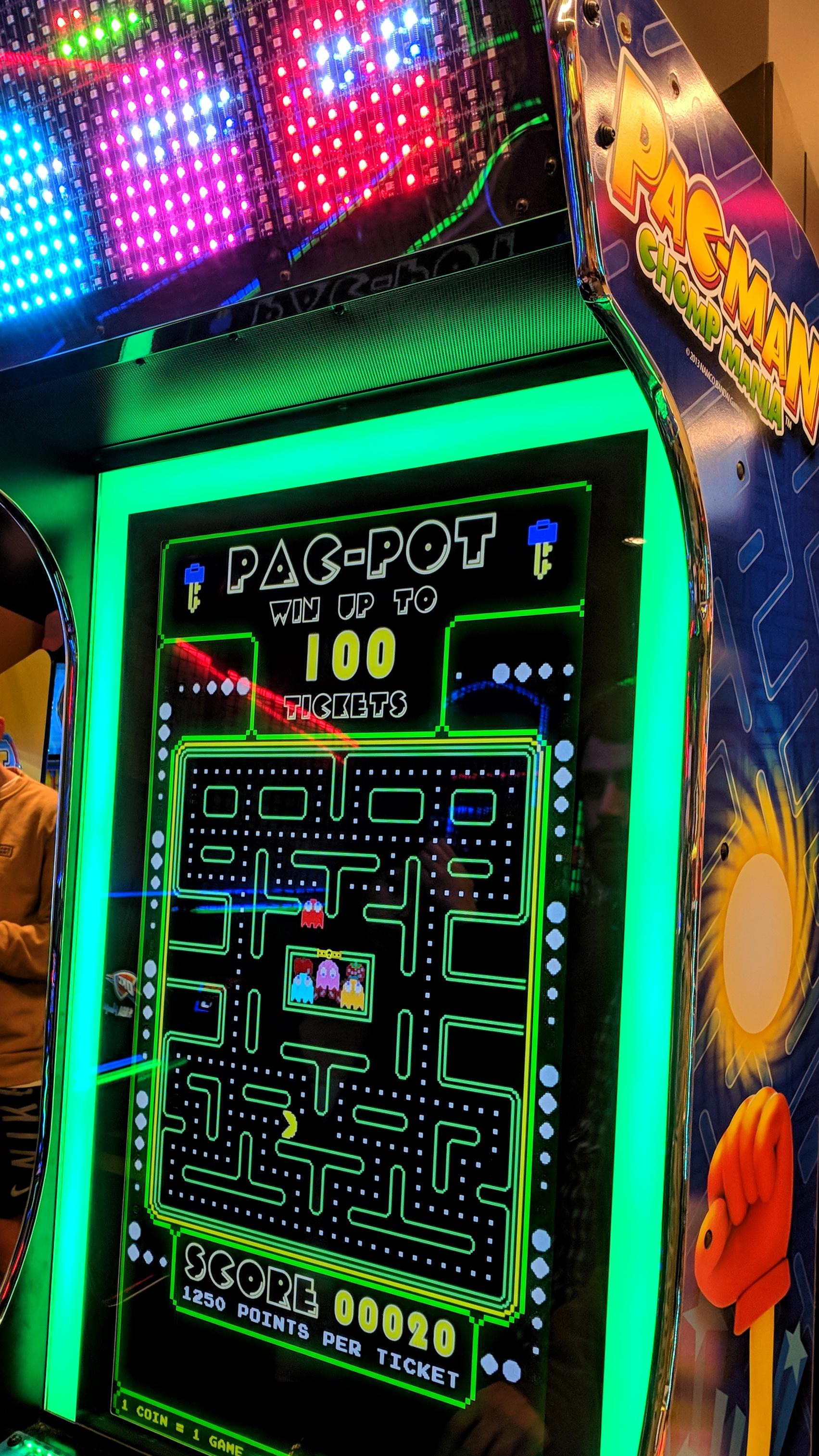 Pac-Man machine
