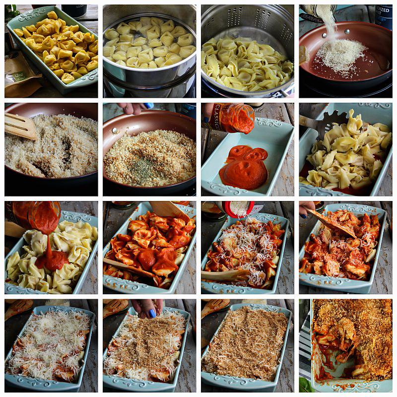 Baked Tortellini #makeityourown