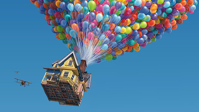 Imagen de la película de animación Up de Disney Pixar